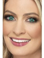 Green Reptile One Day Contact Lenses